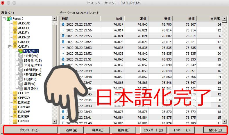 XMtrading日本語