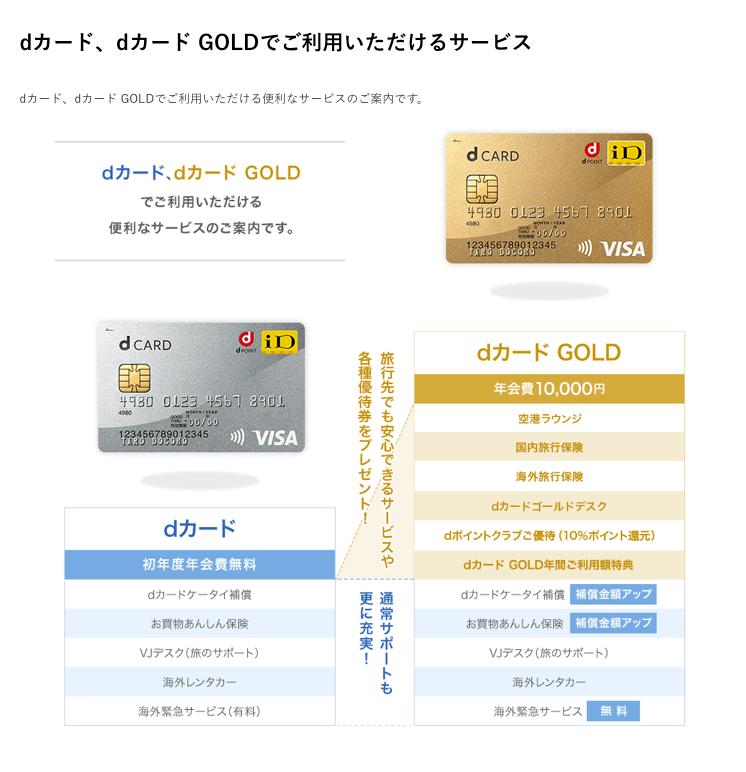 dカード比較