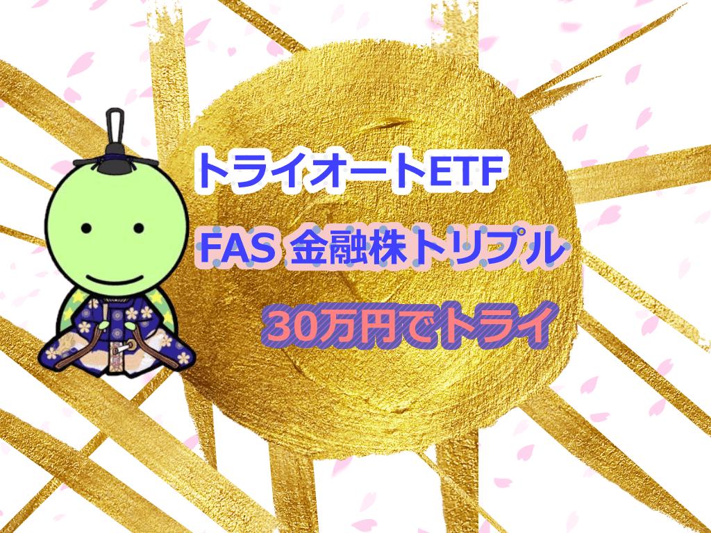 FAS金融株トリプル