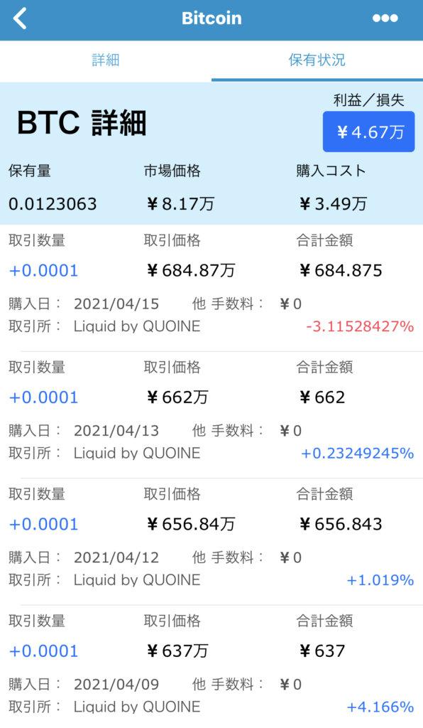 3月仮想通貨パフォーマンス
